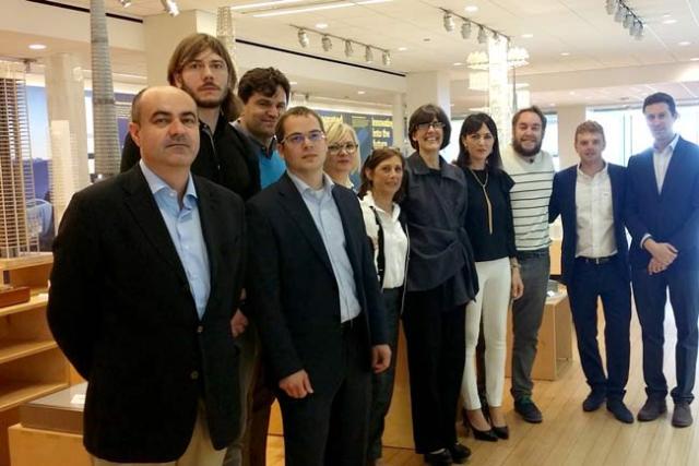 Representantes de las firmas almeriense participantes en este encuentro.