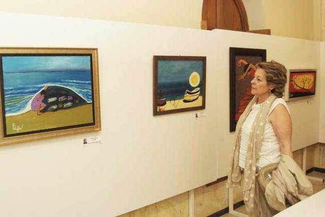 Obras de José Barea en el Faro de Roquetas.