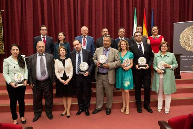 Galardonados en los premios Hisara.