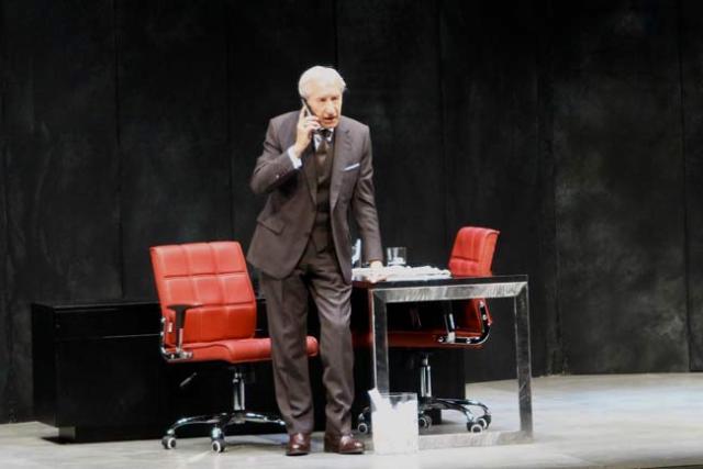 José Sacristán ha sido una de las figuras destacadas del Festival de Teatro.