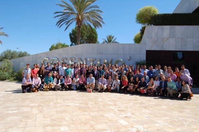 Participantes en el seminario Líderes del Futuro.