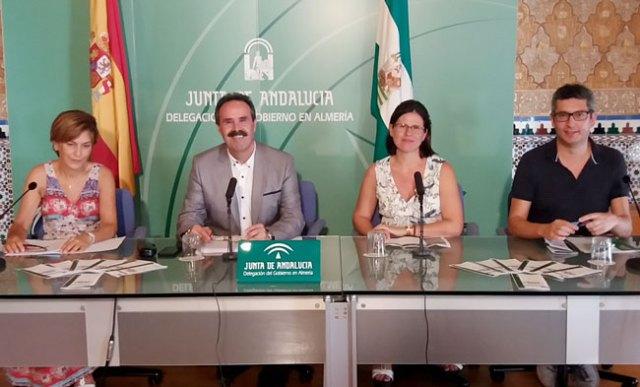 Presentación de las Jornadas de Patrimonio en Almería.