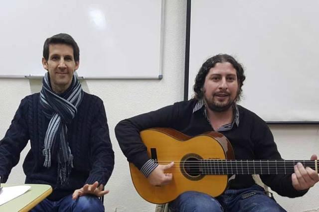 Hugo del Pino y Perico el Pañero.