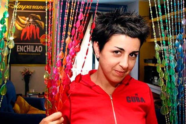 Amparo Sánchez, líder de Amparanoia.
