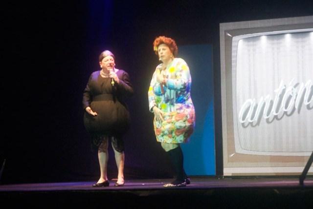 Omaíta y Antonia, los dos personajes más famosos de Los Morancos.