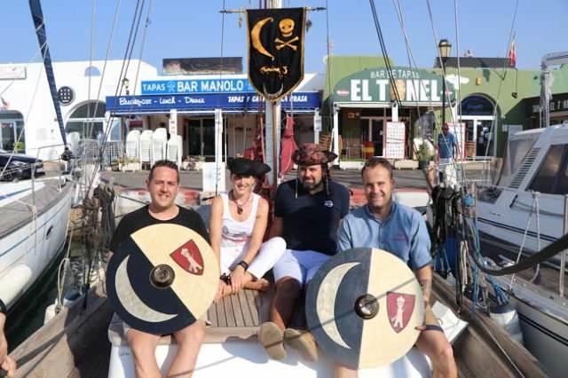 Presentación de la Semana Pirata de Almerimar.