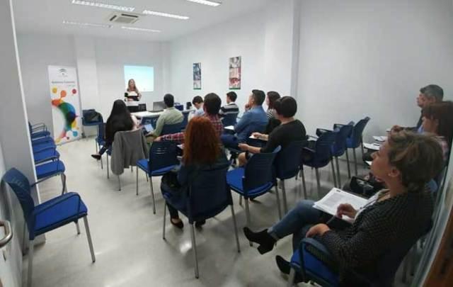Curso formativo impartido por el CADE huercalense durante el primer semestre.