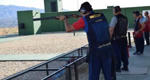 El el Campeonato de Tiro han participado tiradores de toda España.