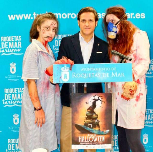 El responsable de Turismo ha presentado la programación para Halloween de Roquetas.