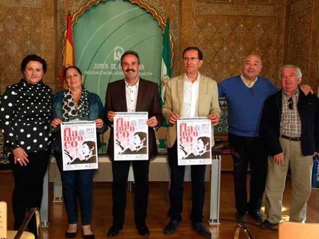 Presentación del circuito de Peñas Flamencas.