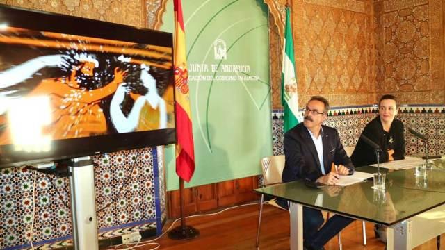 Alfredo Valdivia y Beba Pérez han presentado la programación del Museo de Almería.