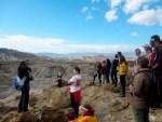 Medio centenar de voluntarios de la UAL conocen el Desierto de Tabernas
