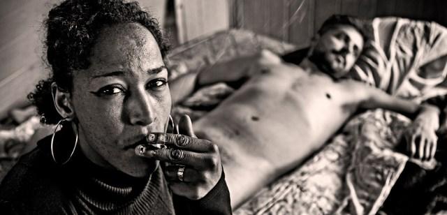 Durmiendo con su chulo. Almería, 2012.