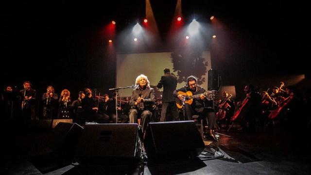 Mercé Sinfónico sorprendió al público del Festival de Teatro de El Ejido.