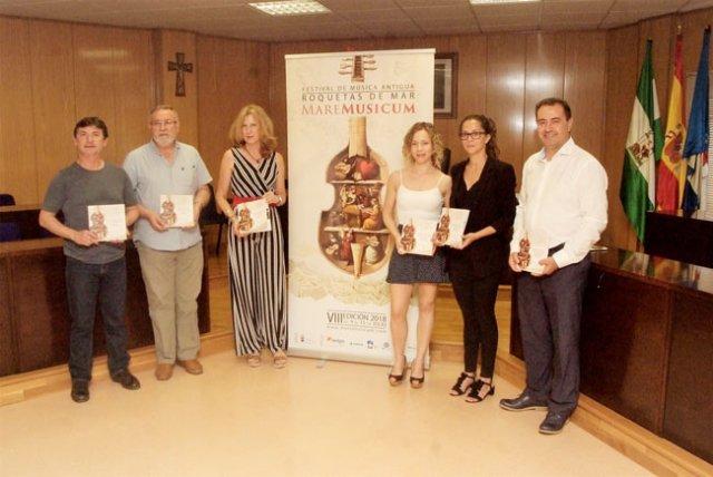 Presentación del Festival Mare Musicum de Roquetas de Mar.