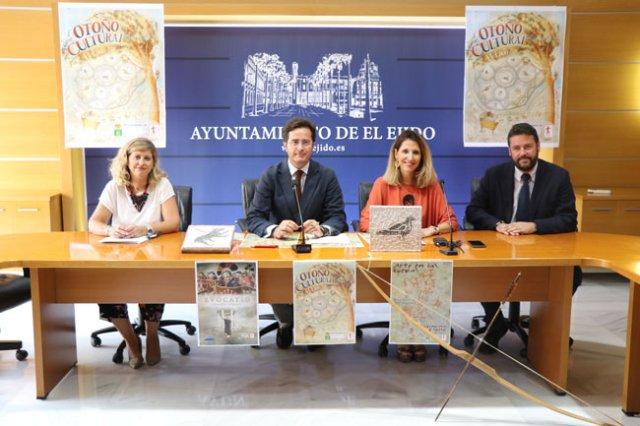 Presentación del Otoño Cultural de El Ejido.
