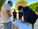 Desarrollo Urbano recoge las propuestas de vecinos y comerciantes de Cortijos de Marín para la red de carril bici