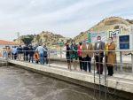 Crespo inaugura la nueva depuradora de Antas y pone en marcha la de Mojácar