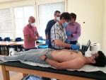 Torrecárdenas comienza a impartir la formación presencial en ecografía para diagnosticar y tratar las secuelas del Covid-19
