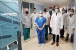 El Hospital Universitario Torrecárdenas realiza una compleja cirugía de una neoformación mandibular
