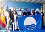 Almería iza sus 33 banderas azules en sus playas