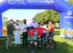 La VI Marcha Ciclodeportiva Green Tour Koppert rinde homenaje a los sanitarios y al fotógrafo ejidense, Jesús Izquierdo