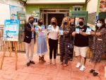 La Junta y el Consorcio ponen en marcha el servicio de bus desde San José a las playas del Parque Natural