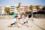 Garrucha y San Juan de los Terreros se convierten en sede de la 'V Copa Diputación de Tenis Playa'