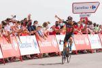 Espectacular fin de etapa de La Vuelta en Velefique