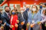Gabriel Amat visita a los empresarios roqueteros en la Feria Fruit Attraction