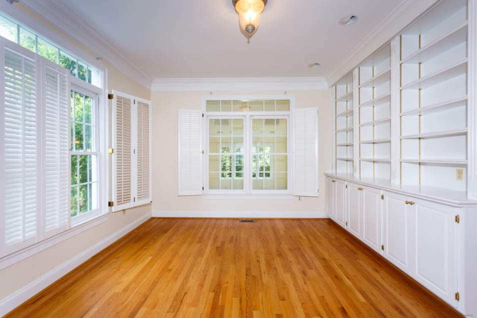 Home Office - Before - Northern Virginia Real Estate Photography