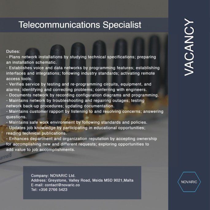 Telecommunications Specialists