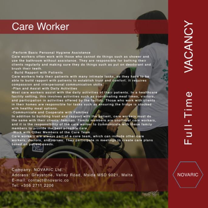 Care Worker 3