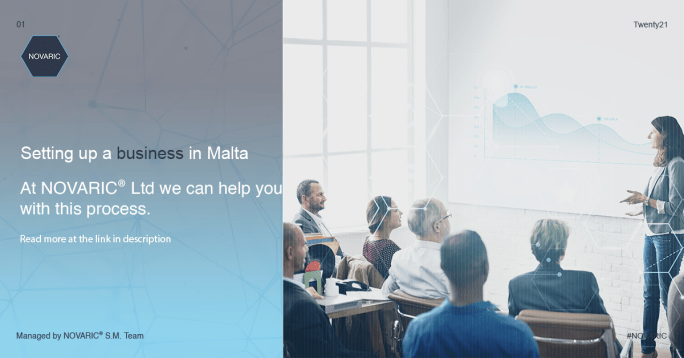 NOVARIC Setting up a business in Malta