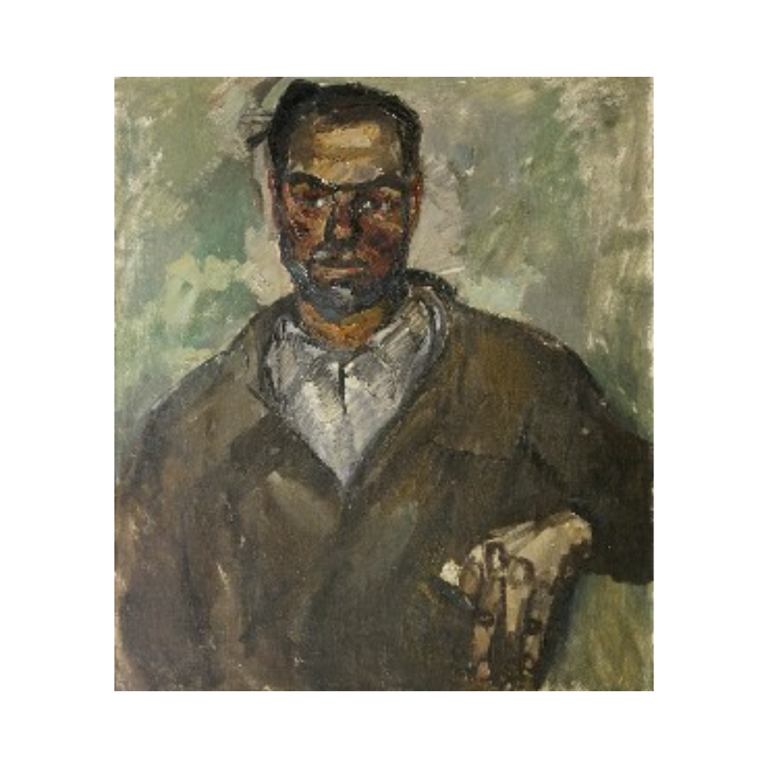 Avrutis kartina portret Frezerovshchik A.Vasyutin