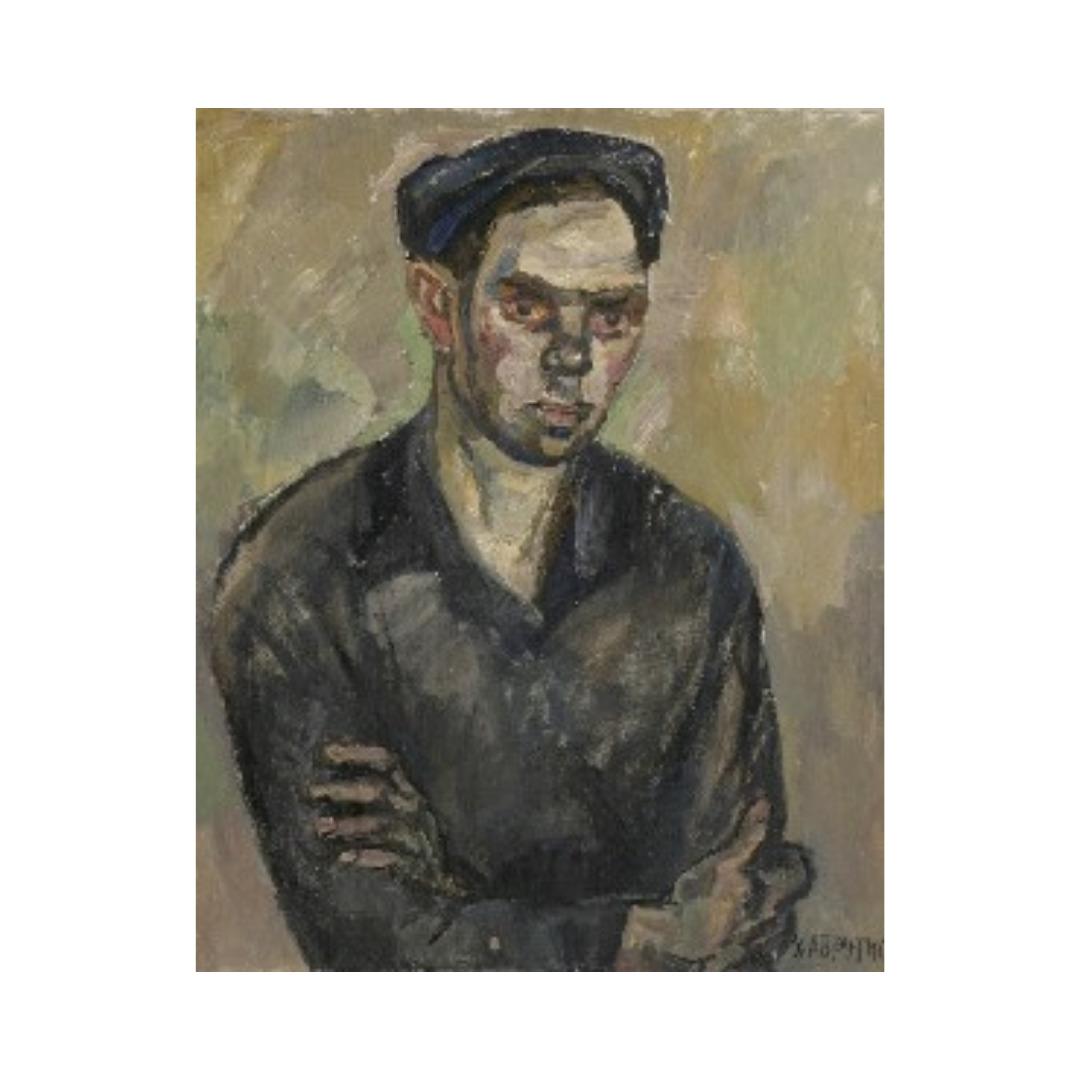 Avrutis kartina portret Tokar' V.Molodin