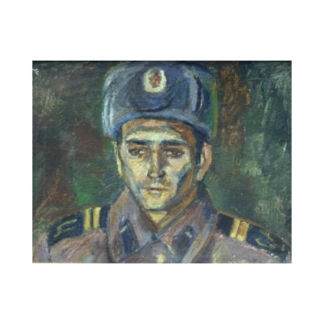 Avrutis kartina portret YAhjo Ganiev
