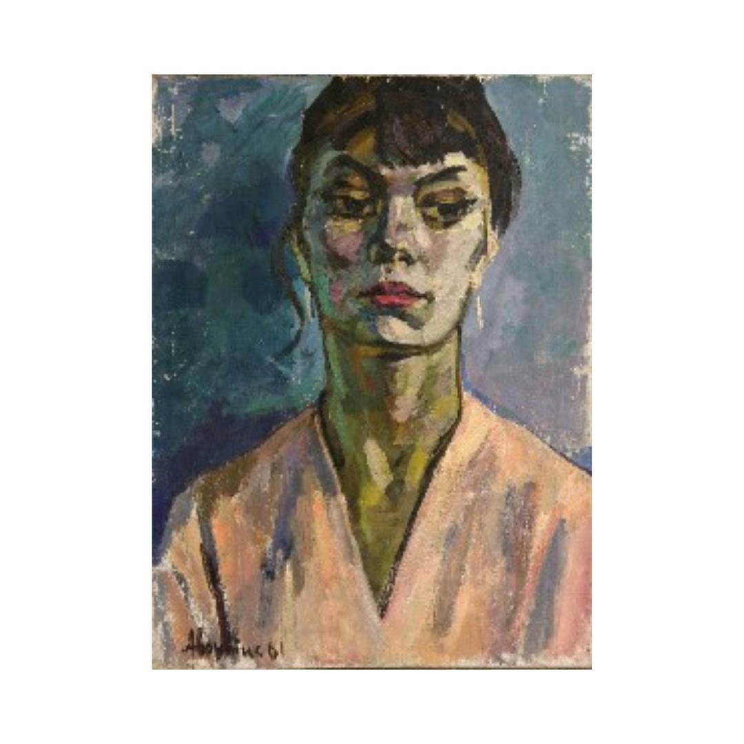 Avrutis kartina Portret Mihajlovoj