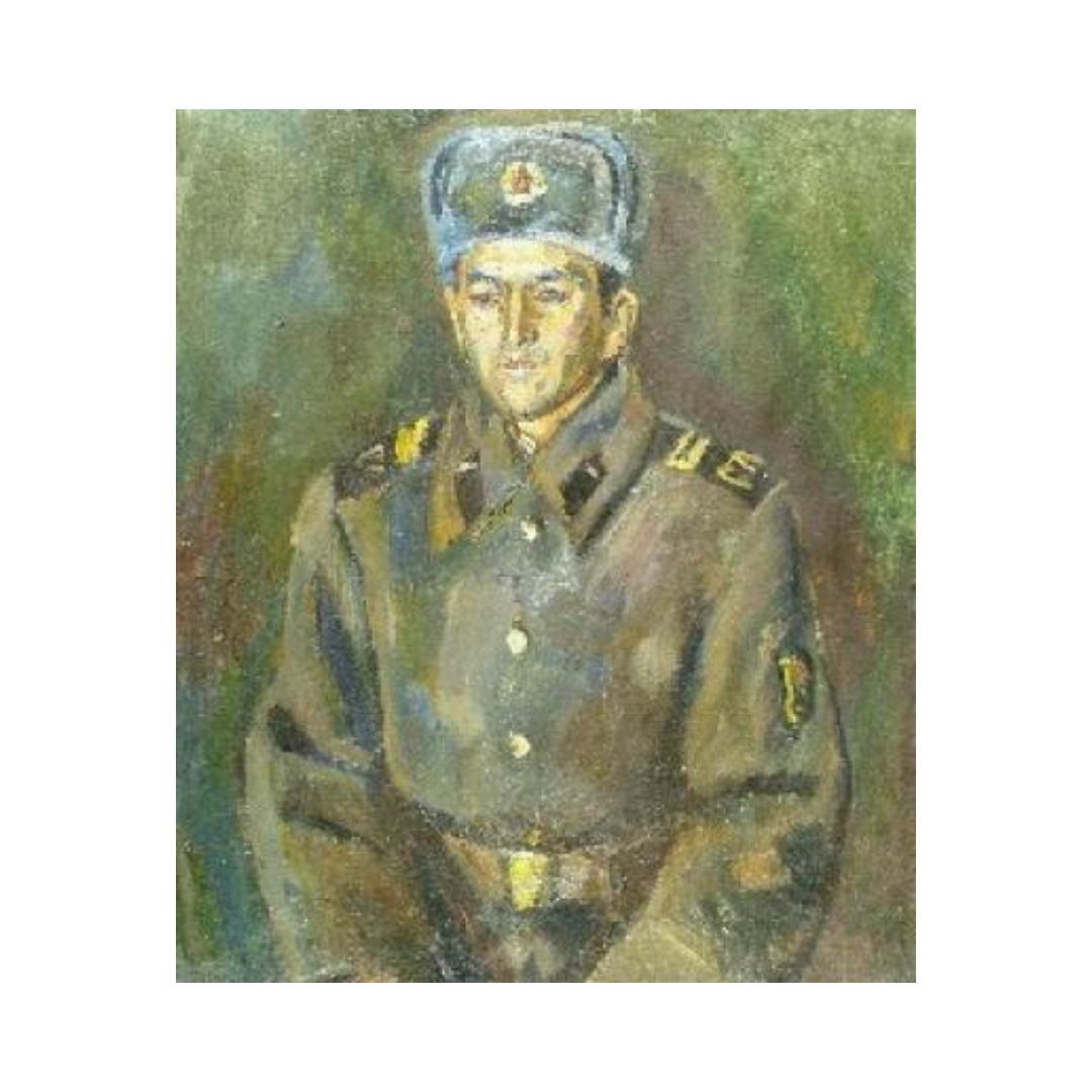 Avrutis kartina Portret YA.Ganieva
