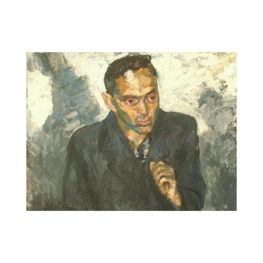 Avrutis kartina Portret V.Pokrovskogo