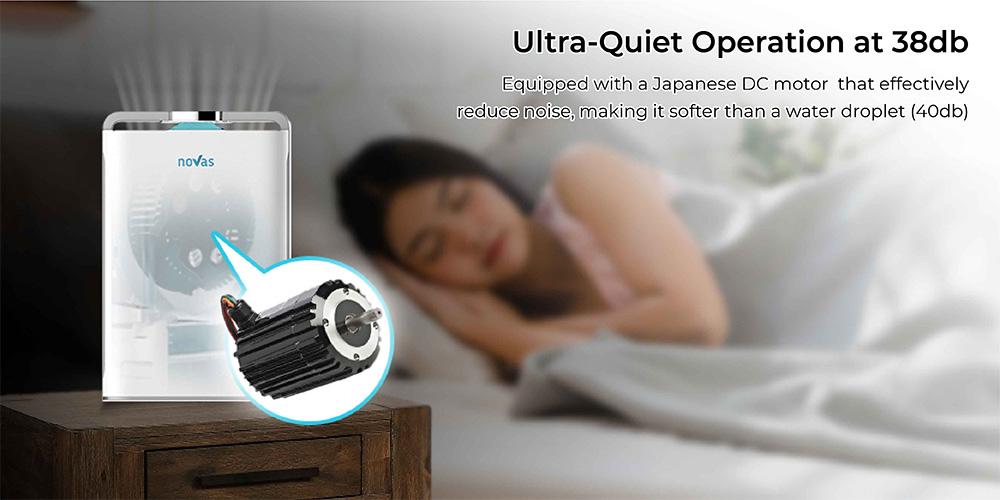 ultra quiet air purifier