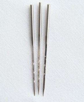 EMBELLISHER - SINGLE NEEDLES (STANDARD ) PACK OF 3