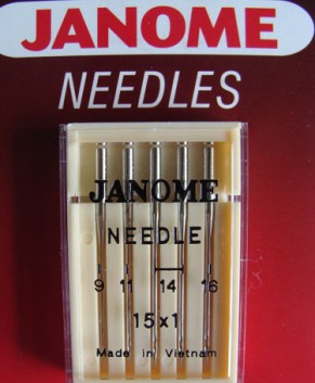 HA 15X1 NEEDLE ASSORTED (5 PER PACKET)