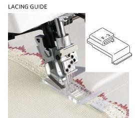 1200D OVERLOCKER LACING GUIDE (F-3)PART NO.200803100