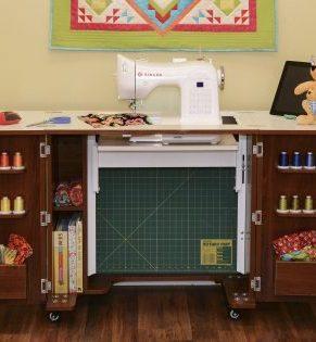 Kangaroo Bandicoot II Sewing Cabinet (Teak)