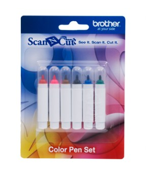 BROTHER SCAN AND CUT - Color Pen Set - CAPEN1
