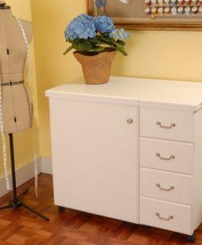Arrow Sewing Cabinet Craft Storage Organizer Norma Jean Model