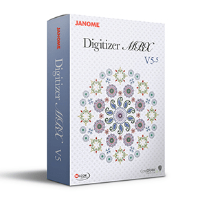 JANOME MBX V5.5 DIGITIZER SOFTWARE - NEW -