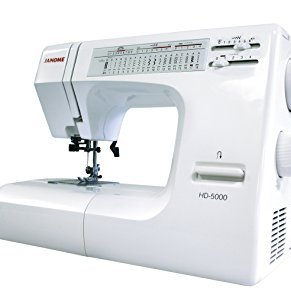 JANOME HD5000 - Super Heavy Duty Model -