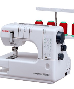 JANOME COVER PRO 1000CPX - LIMITED TIME ONLY SALE